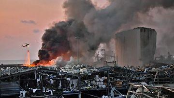Beirut räjähdys