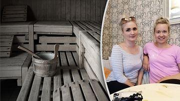 Iäkäs nainen löytyi saunasta, Mimosa Vainio, Veera Konttinen