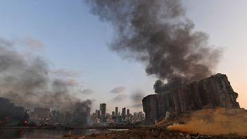 LK Beirut räjähdys Libanon
