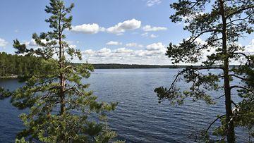 Järvi, kesä, sää AOP