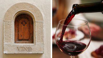 viini-ikkuna