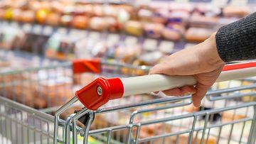 ruokakauppa, ostoskärryt