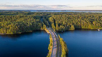 Suomi, sää, kesä, auringonlasku, meri AOP