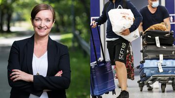 Eeva Lehtimäki, kommentti, lentokenttä