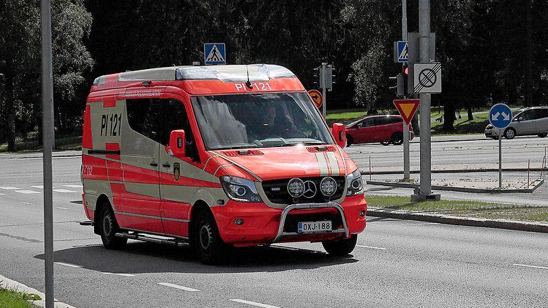 AOP, pelastuslaitos, ambulanssi