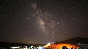 LK Perseidin meteoriparvi, Israel, elokuu 2020