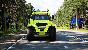 avtoros shaman 8x8 ambulance