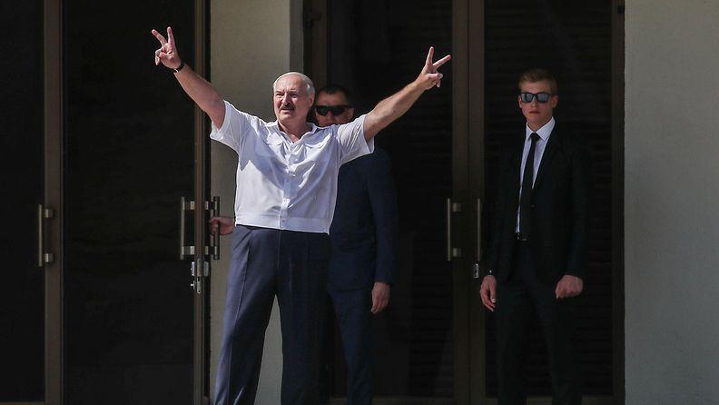AOP Lukashenko mielenosoitus 1
