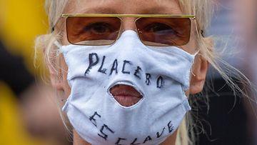 AOP brysseli, koronaprotesti 3