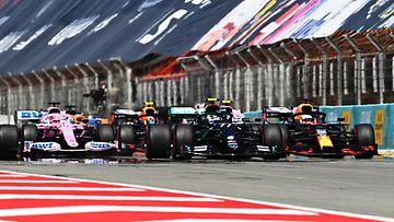 F1 lähtö start, 2020 espanja, barcelona
