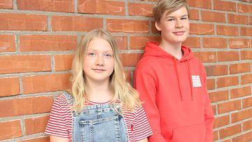 Elmeri Ylä-Rautio ja Sofia Lehtinen