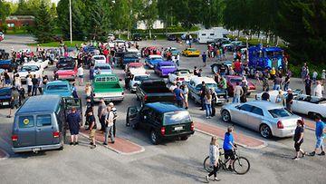 Kuhmo cruicing -tapahtuma järjestettiin Kuhmossa heinäkuussa.