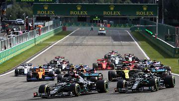 F1-lähtö