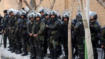 AOP Iran mellakkapoliisi