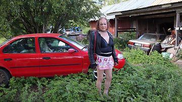 Markus Kuotesaho on Suomen tunnetuin transvestiitti.