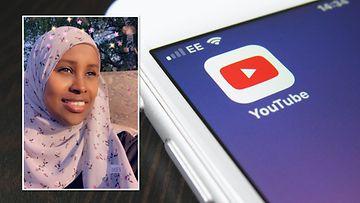 Helsinkiläinen Hani Hersi kannustaa somalinaisia troteuttamaan unelmiaan. Hän itse haaveilee puhumisesta isoille joukoille.
