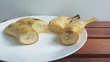 banaanikakku Nea Kuivala leikattu