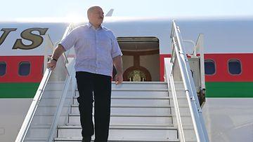 Lukashenka, tapaaminen Putinin kanssa