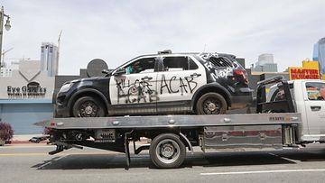 aop poliisiauto ford interceptor george floyd (1)