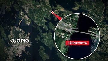 Kartta-jännevirta-kuopio