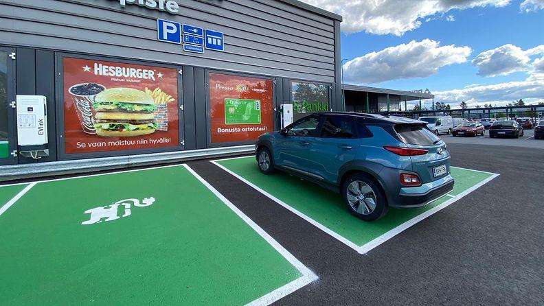 OMA: Sähköautoilu, sähköauto, sähköauton lataus, hyundai
