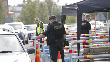 LK Ruotsin raja sisärajavalvonta