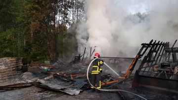 Pelastuslaitos: Autotalli paloi Mikkelissä 1