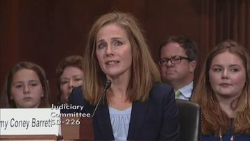 Amy Coney Barrett REUTERS-kuvakaappaus tuomari