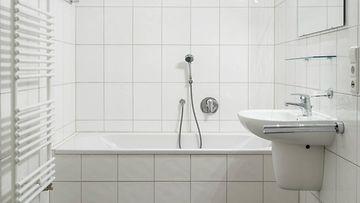 kylpyhuone suihku kuvituskuva