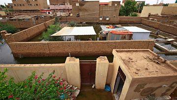 LK 2409 Sudan tulvat