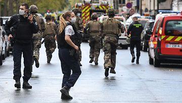Pariisin puukkoisku Charlie Hebdon LK