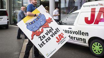 Sveitsin kansanäänestys vapaasta liikkuvuudesta