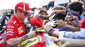 Kimi Räikkönen & fanit