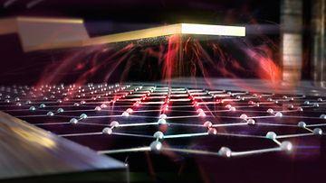 kvanttitietokone kuvituskuva 2020