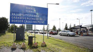 LK haaparanta raja ruotsi matkustusrajoitus