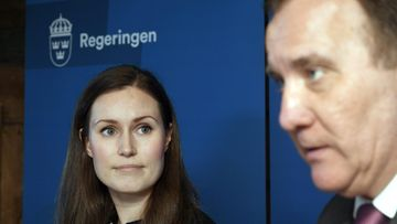 LK Sanna Marin Stefan Löfven