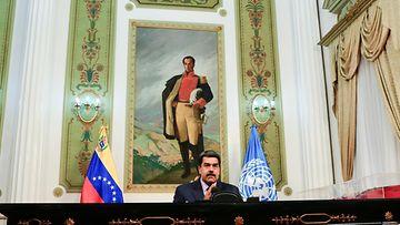 AOP Venezuelan presidentti Nicolas Maduro