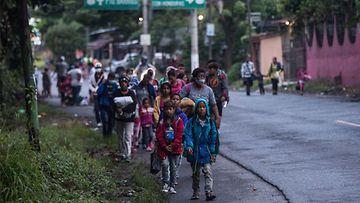 AOP Honduras siirtolaiset Guatemala