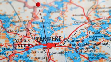 Tampere kartta Pirkanmaa