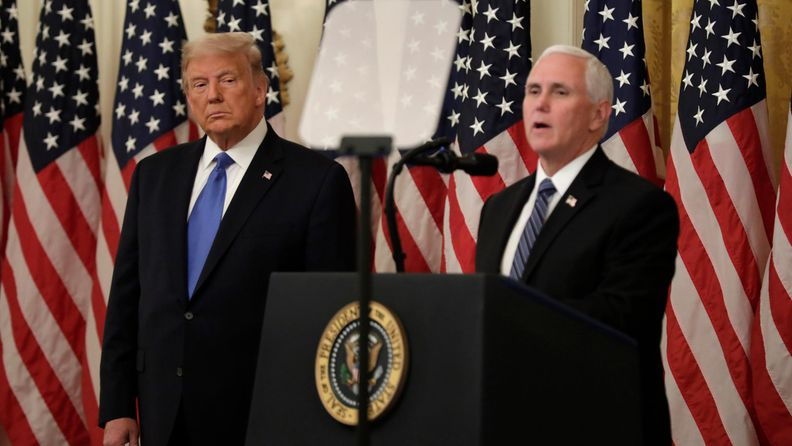 Mike Pence Donald Trump EPA