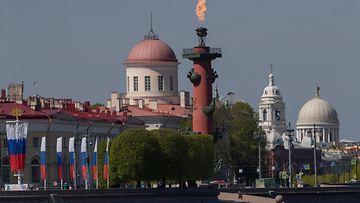 Pietari kaupunki Venäjä toukokuu 2020