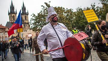 Tsekki Tshekki korona praha EPA