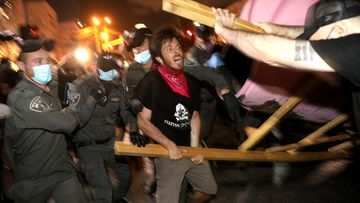 Israel mielenosoitus AOP