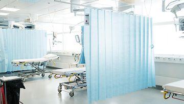 LK korona sairaala Turku elokuu 2020
