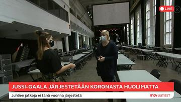 Jussi-gaala Riina Liukkonen Live
