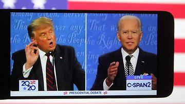 Trump Biden väittely AOP