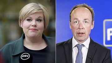 Annika Saarikko Jussi Halla-aho LK