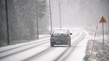 lumi sää tie ajokeli liikenne talvi lk ladattu 181020