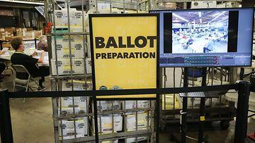 usa vaalit ennakkoäänestys kuvituskuva LK ladattu 201020