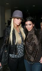 Paris Hilton Kim Kardashian 2007